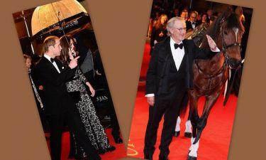 Το πριγκιπικό ζευγάρι, ο Spielberg και το άλογο