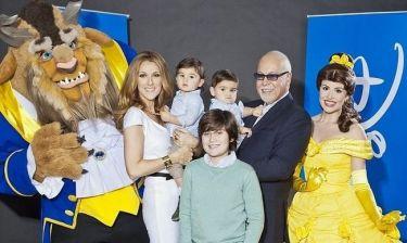 Η ευτυχισμένη οικογένεια της Celine Dion