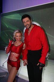 Dancing on ice: Η τρύπα στο καλσόν της…