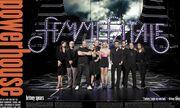 Η Britney Spears φωτογραφίζεται με τους συνεργάτες της