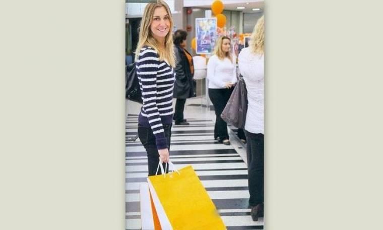 Shopping therapy για την Γιολάντα Διαμαντή