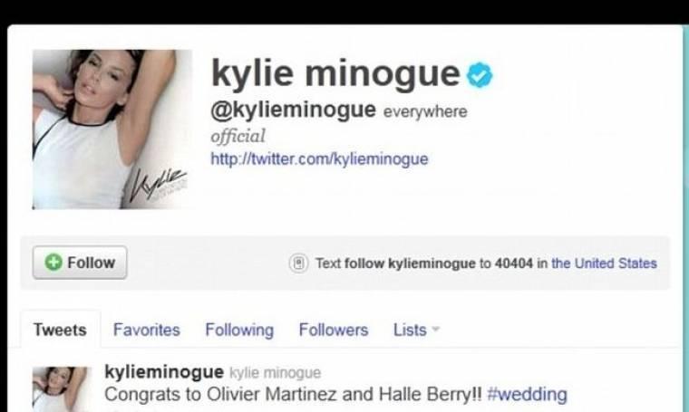 Η Kylie Minogue συγχαίρει τον πρώην της για τον αρραβώνα με τη Halle Berry