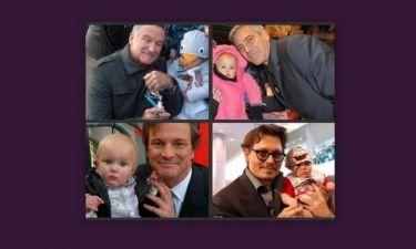 Το μωρό που βγάζει φωτογραφίες με όλους τους celebrities! (pics)