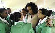 Η Oprah Winfrey επέστρεψε στην Αφρική