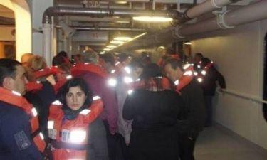 Bίντεο: Χαοτική η εκκένωση του Costa Concordia
