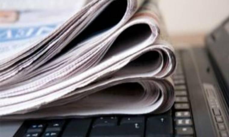 Νέα μεγάλη πτώση για τις εφημερίδες και άνοδος του διαδικτύου