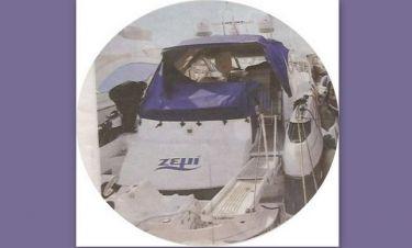 «Νοικιασμένο» το δώρο - σκάφος του Χατζηγιάννη στη Μακρυπούλια!