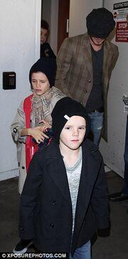 David Beckham: Ποδόσφαιρο με τους γιους του