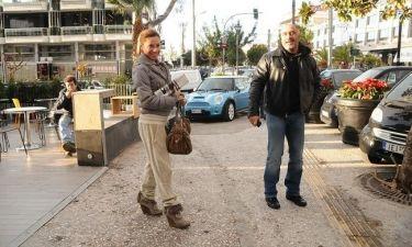 Πιερίδη-Καμενίδης: Βόλτα στη Γλυφάδα