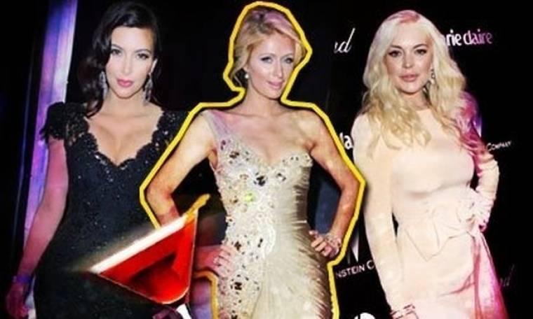 Lindsay, Kim, Paris: χωρίς βραβείο, αλλά μεθυσμένες στα πάρτι των Golden Globes