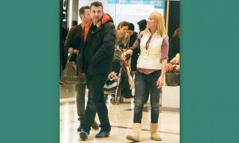 Γιώργος Λιάγκας-Φαίη Σκορδά: Ψώνια για το σπίτι