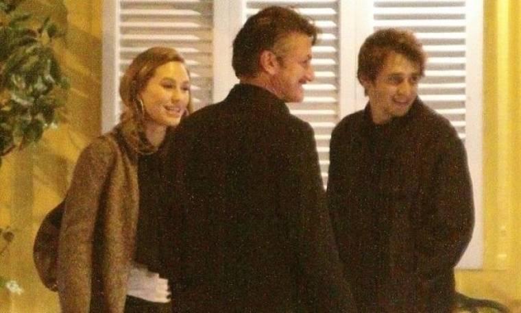 Sean Penn: Οικογενειακό δείπνο στο Λος Άντζελες