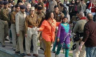 Oprah Winfrey: Προβλήματα στο ταξίδι της στην Ινδία