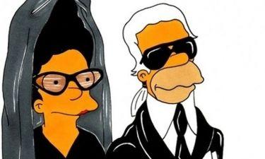 Oι σχεδιαστές στον κόσμο των Simpsons