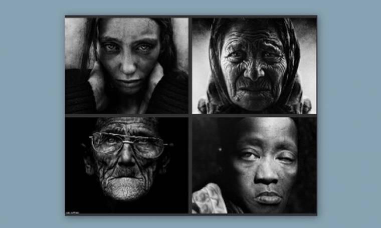 Η μοναξιά απoτυπωμένη σε εκπληκτικά πορτραίτα αστέγων (pics)