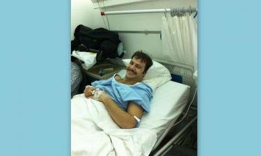 Στο νοσοκομείο ο Ορέστης Τζιόβας