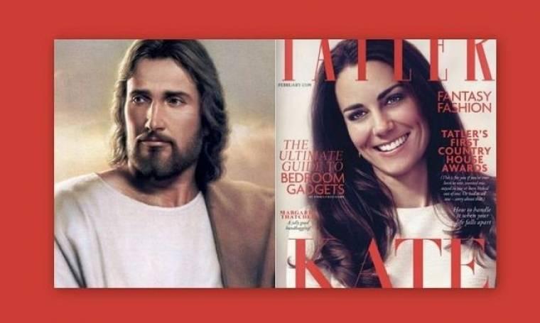 H… αγία Kate Middleton στο εξώφυλλο του Tatler