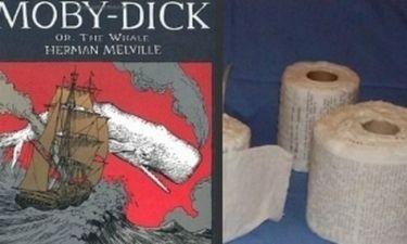 Το μυθιστόρημα «Μόμπι Ντικ» γραμμένο σε… χαρτί υγείας!