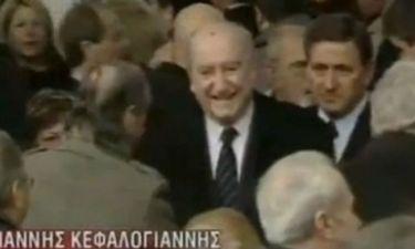 VIDEO: Γιατί γελούσε ο Μητσοτάκης στην κηδεία του Κεφαλογιάννη