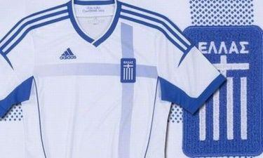 Αυτές είναι οι φανέλες της Εθνικής για το Euro 2012