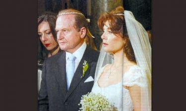 Τσαβλίρης-Τσιτσάνη: Οι πρώτες φωτογραφίες από το λαμπερό γάμο της high society