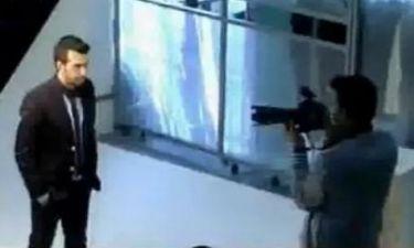 H φωτογράφηση του Θάνου Πετρέλη για το νέο του τραγούδι!