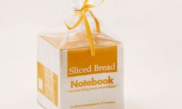 Ψωμάκι για τοστ ή σημειωματάριο;