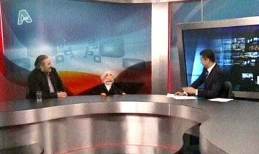 Η απολαυστική εμφάνιση του Λαζόπουλου στο δελτίο ειδήσεων του Alpha