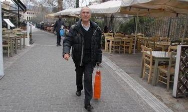 Αλέξης Κωστάλας: Βόλτα στο κέντρο της Αθήνας