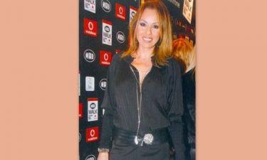 Ιωάννα Σουλιώτη: In total black look