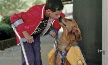 Facebook: Ο σκύλος, το αγοράκι και το μήνυμα αγάπης