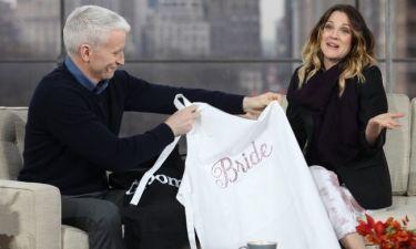 Τα γαμήλια δώρα του Anderson Cooper στη Drew Barrymore