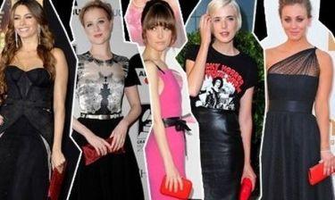 Η κόκκινη τσάντα των celebrity κυριών αναβαθμίζει το look