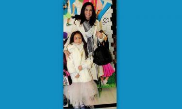 Βάσω Γουλιελμάκη: Σε παιδική παράσταση με την κόρη της