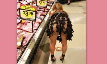 Αυτό είναι dress code για super market! (φωτό)