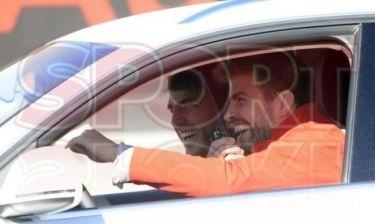Με το τιμόνι στα χέρια οι παίκτες της Μπαρτσελόνα
