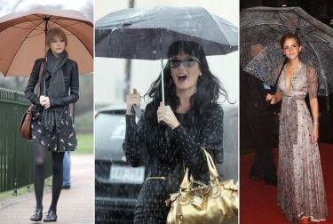 Οι σταρ με το αγαπημένο τους αξεσουάρ, την ομπρέλα