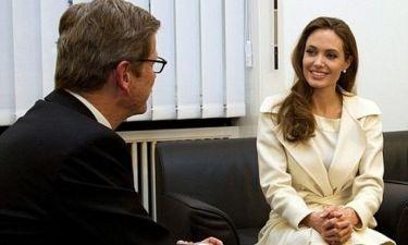 Angelina Jolie – Guido Westerwelle: Συνάντηση… κορυφής