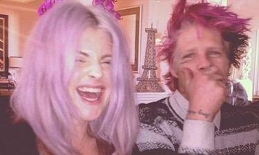 Μαλλιά στο χρώμα της λεβάντας για την Kelly Osbourne