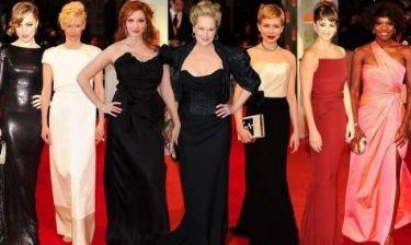 Εντυπωσιακές εμφανίσεις στο κόκκινο χαλί των βραβείων BAFTA