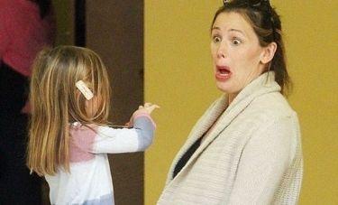 Η Jennifer Garner διασκεδάζει την κόρη της