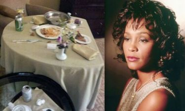 Το τελευταίο γεύμα της Whitney Houston (Συγκλονιστικές φωτογραφίες)