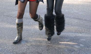 Τα κορίτσια με τα trendy boots