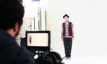 Στα backstage του νέου videoclip του Χρήστου Π.