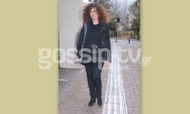 Αλίνα Κωτσοβούλου: Βόλτα στο κέντρο της Αθήνας