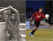 Και ποδοσφαιριστής και… μοντέλο!