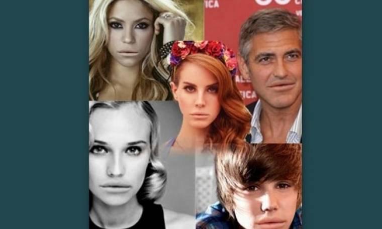 Τι θα γινόταν αν οι διάσημοι του Hollywood είχαν τα πλαστικά χείλη της Lana Del Rey;