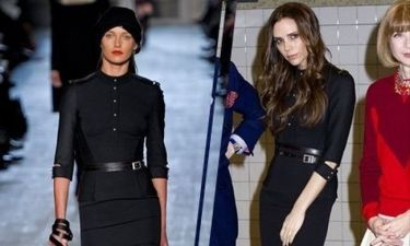 H Victoria Beckham σε look «βαμπιρέλας»
