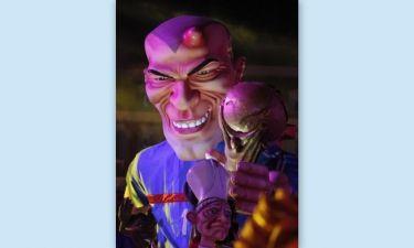 Ο Ζιντάν, το καρναβάλι και το… καρούμπαλο