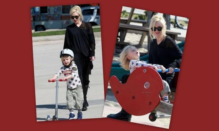 Gwen Stefani: Με τους γιους της σε πάρτι γενέθλιων!